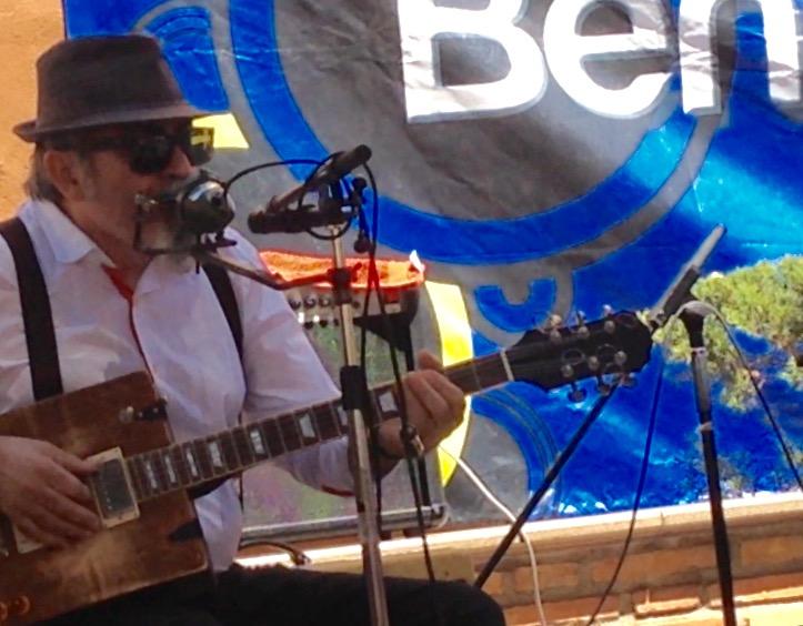 Partcicipación en el IV Benicàssim Blues Festival 2015