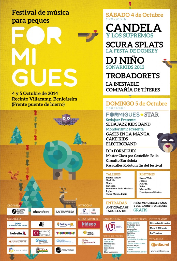 festival musica formigues peques mondo ritmic 2014