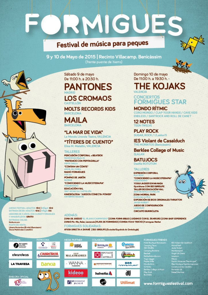 festival musica formigues para peques mondo ritmic 2015