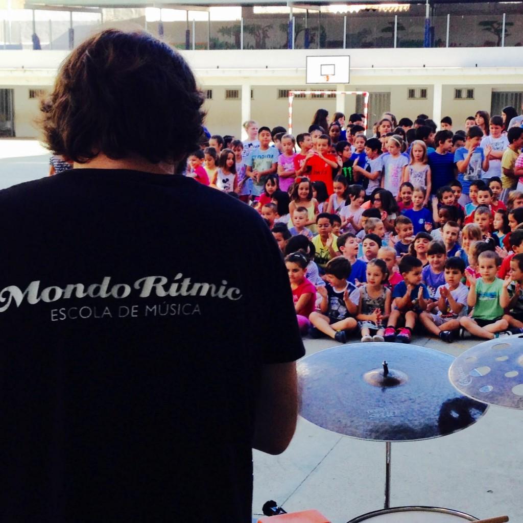taller música mondo rítmic ceip bisbe climent castellón