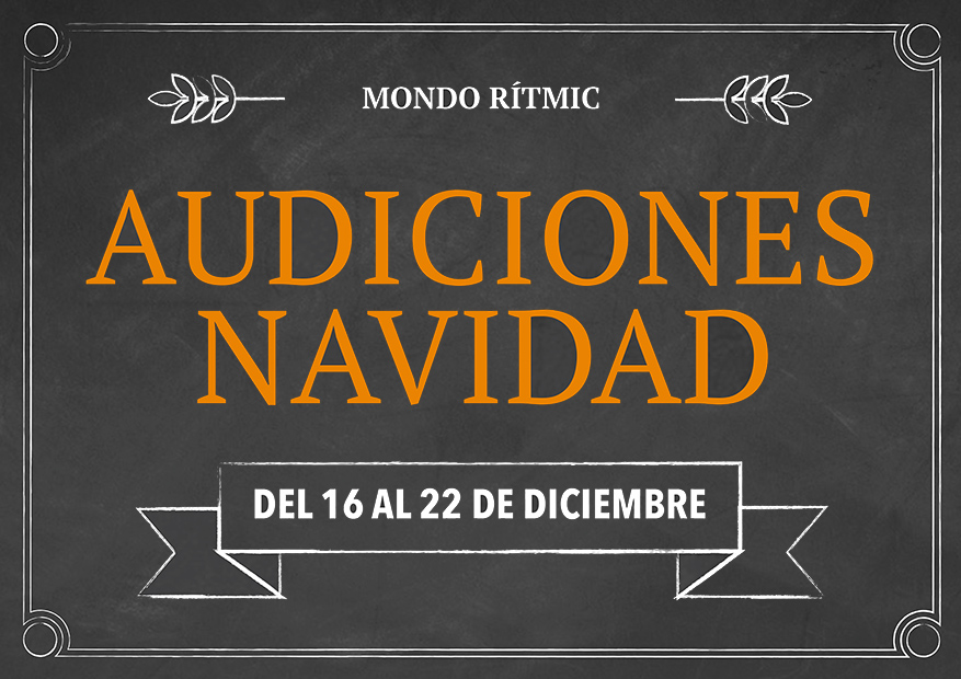 Audiciones y Talleres de Navidad 2015