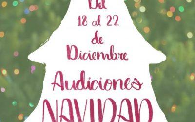 Audiciones de Navidad 2017-18