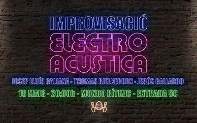 Improvisación Electroacústica el 18 de Mayo