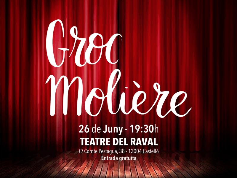 """Obra de teatre """"Groc Molière"""""""