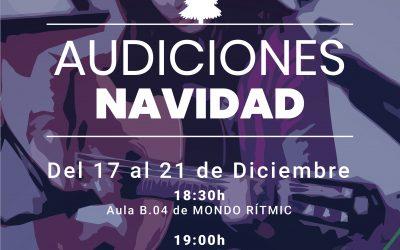 Audiciones y Talleres de Navidad 2018