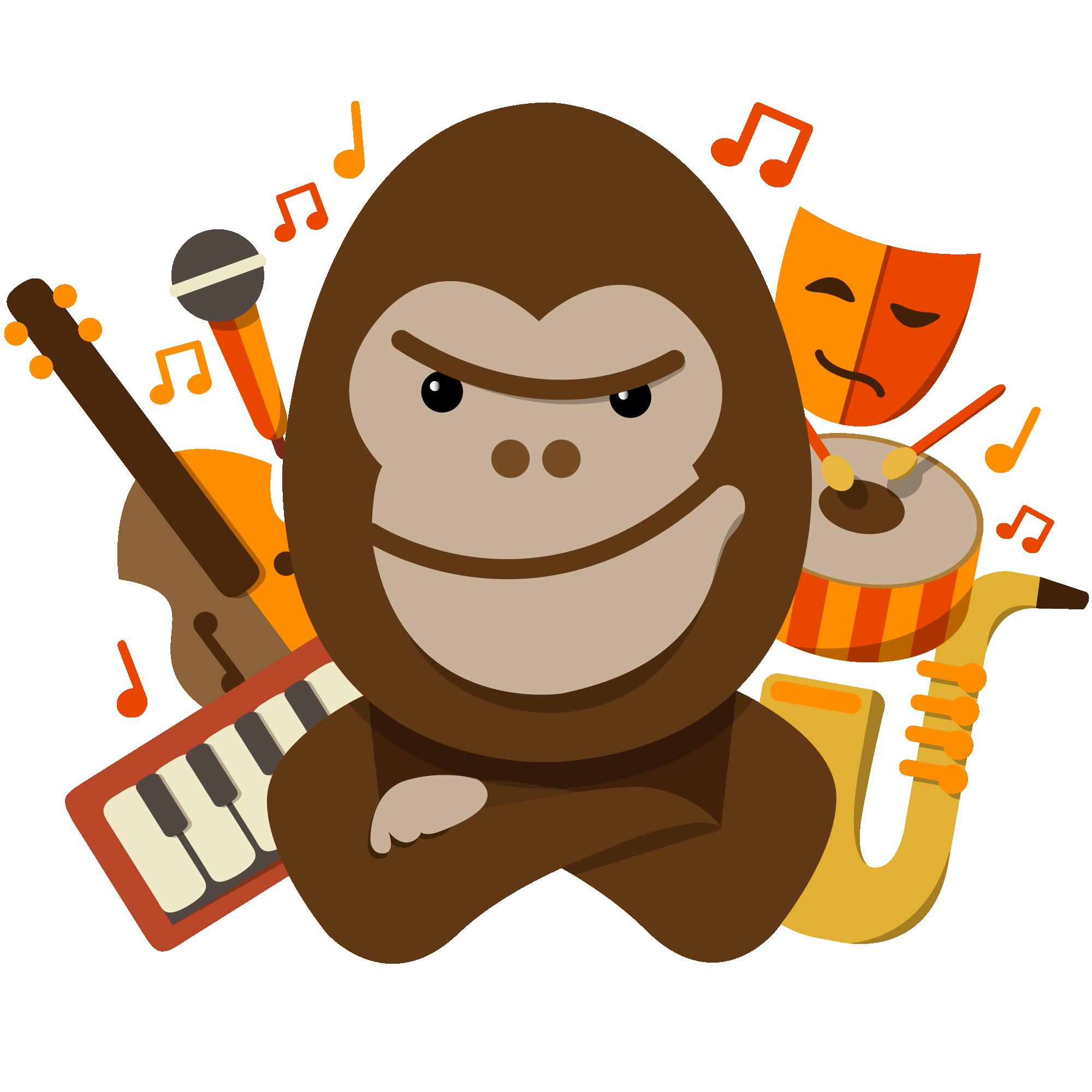 logotipo mondo rítmic escola de música