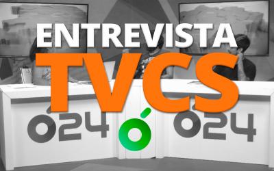 ¡Nos hacen una entrevista en la TVCS!